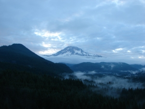 Mt. Hood from Lolo Pass Rd.
