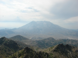 Mt. St. Helens from Coldwater Peak