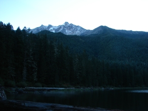 Mt. Jefferson from Pamelia Lake