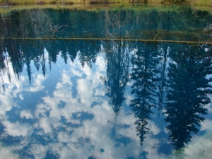 Reflections on Little Crater Lake