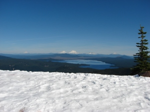 Waldo Lake and the Cascades
