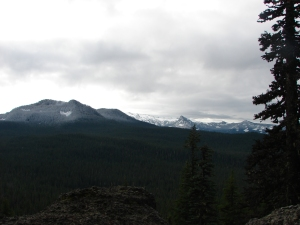 Looking toward Mt. Jefferson from Potato Butte
